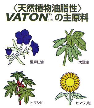 VATON(バトン)の主原料