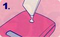 【デコレーション専用接着剤】パーフェクトデコ 使用方法1